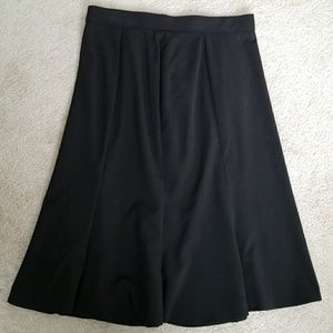 Comfortable Black A line Skirt